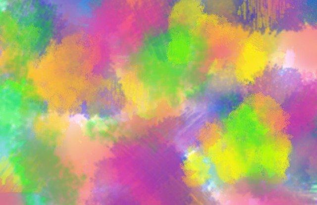 abstrakt, malba, obraz