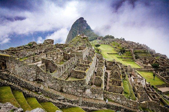 Machu Picchu ruiny