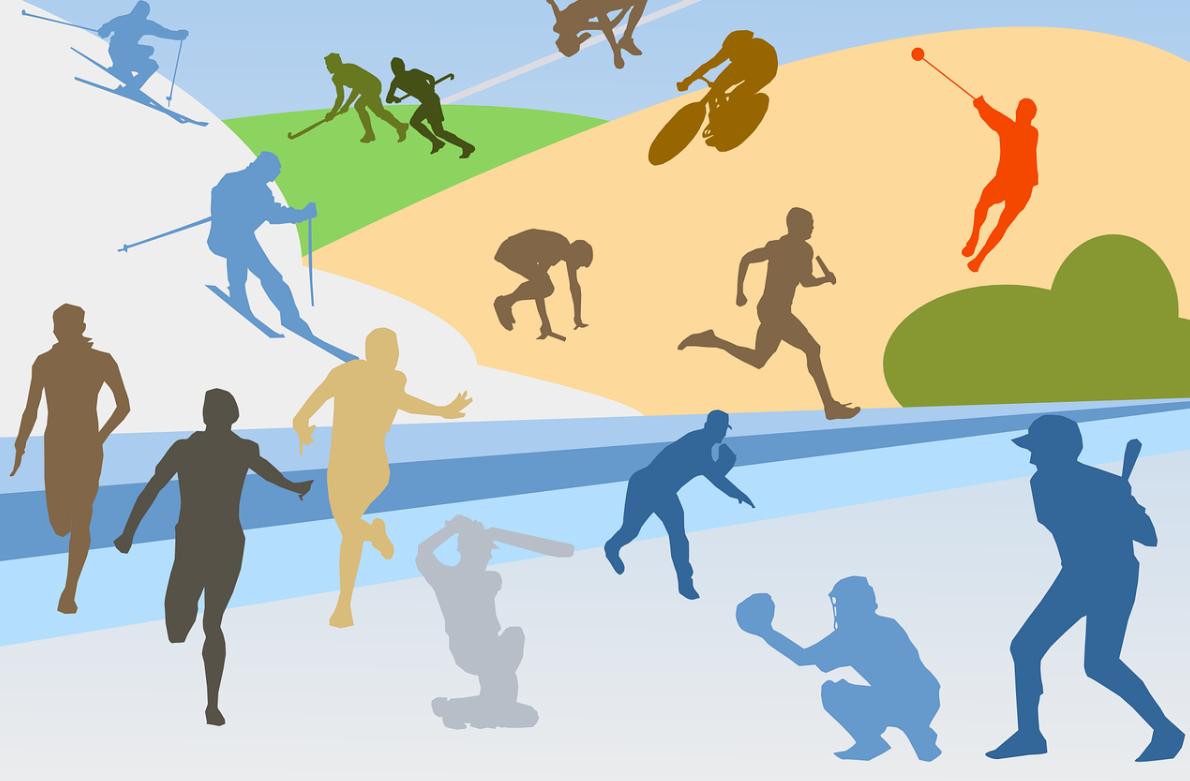 různé sporty
